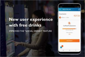 "SELFBLUE. Improved the user experience of the ""Social drinks"" feature on the mobile app"