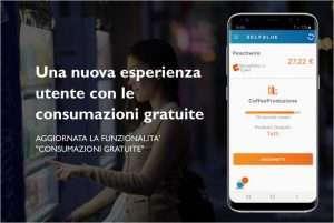 """SELFBLUE. Aggiornata l'esperienza utente della funzionalità """"Consumazioni gratuite"""" dell'app"""