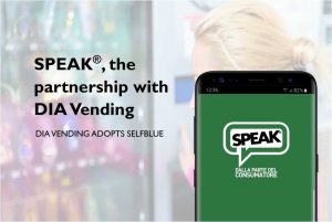 "SELFBLUE. Just published ""SPEAK"", a customized version of SELFBLUE for our partner DIA Vending"