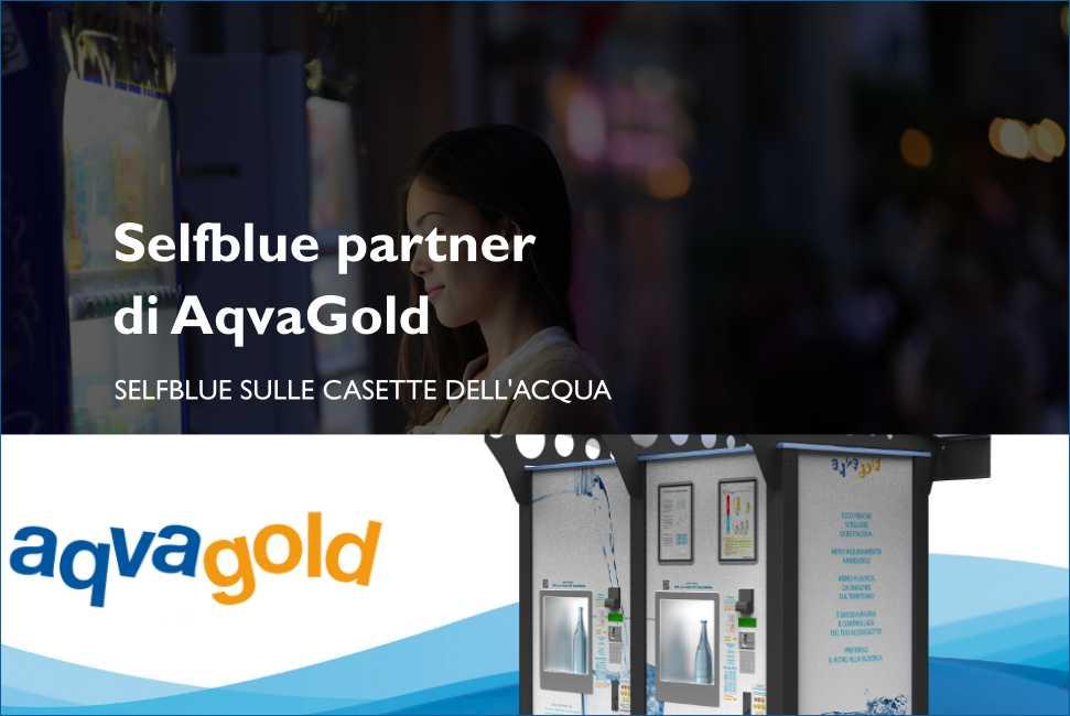 SELFBLUE. Dal 13 al 15 settembre 2019, festival della sostenibilità di Lecco, sulle casette dell'acqua di AqvaGold si può pagare con Selfblue
