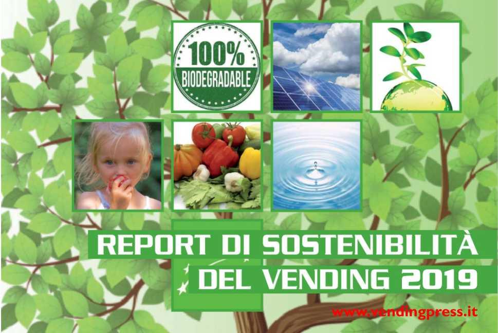 """SELFBLUE. """"Report di sostenibilità del vending"""" di Vending Magazine, il report su DIA Vending e sull'app SPEAK in partnership con Peachwire"""