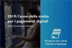 SELFBLUE. L'iniziativa del Governo Italiano per incoraggiare l'uso delle carte di credito e i pagamenti digitali