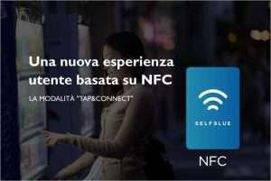 SELFBLUE. Una nuova esperienza utente grazie all'utilizzo dell'NFC